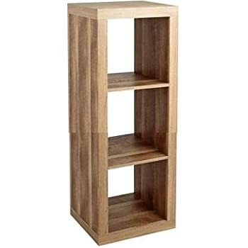 This Item Better Homes And Gardens Furniture 3 Cube Room Organizer Storage  Bookcases Weathered (3 Cube, Weathered)