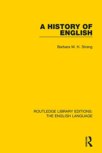 A History of English (Routledge Library Edition: The English Language) Pdf