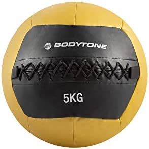 BT BODYTONE Soft Wall Ball de 5kg. Balón Medicinal de Color ...