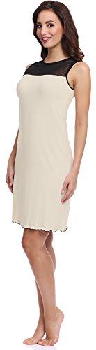 Camicia 101 Merry Donna Notte da Style W856 Ecru MS10 UPPHqwv5