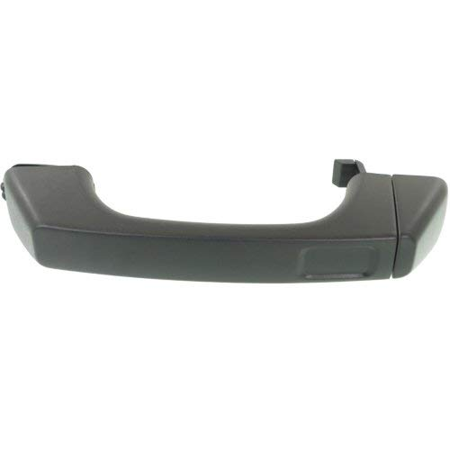 - Exterior Front Door Handle Compatible with HUMMER H3 2006-2010 RH=LH Textured Black Plastic (=REAR/Tailgate)