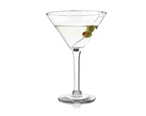 Libbey Preston Clear Large Martini Glasses 4pc DishwasherSafe 10oz (Large Image)
