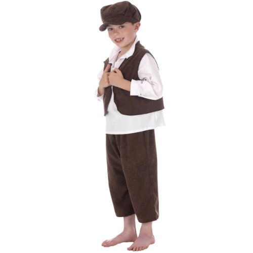 Ernest the Urchin Costume for Kids 10-12 (Newsboy Costume)