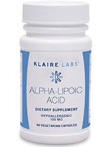 Klaire Labs - Alpha-Lipoic Acid 150 mg 60 Vcaps