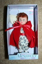Madame Alexander Storybook Little Red Riding Hood Mini Doll Travel Size 5