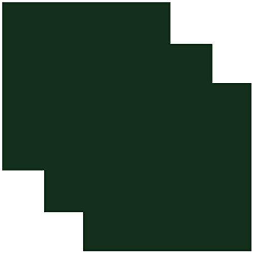 SISER EasyWeed Heat Transfer Vinyl HTV for T-Shirts 12 x 12 Inches 3 Precut Sheets (Dark Green)