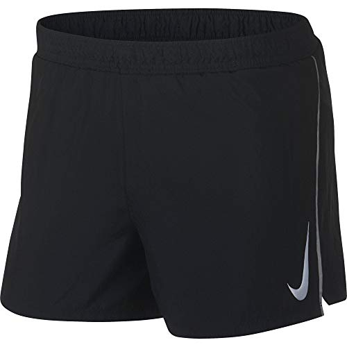 NIKE Men's 4'' Fast Short - Running (Black, L) by Nike (Image #1)