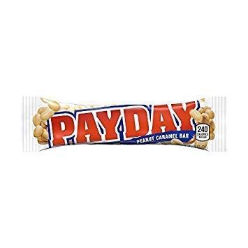 Payday Peanut Caramel Bars 1.85 Oz Bars (Pack Of 24) (3 Units Per Order)