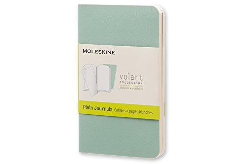 Moleskine Volant Journal Plain XS, Sage/Seaweed Green