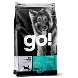 PETCUREAN 152407 Go Fit Plus Free Grain Free Adult for Dog, 12-Pound