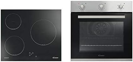 Candy - Conjunto de horno multifunción + placa vitrocerámica fpe502/6x+ch630: Amazon.es: Grandes electrodomésticos