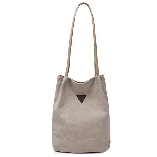 Lienzo de arte bolsa de cubo del bolsos limpios simplicidad casual sen tote bolso diagonal del lino del algodón-D A