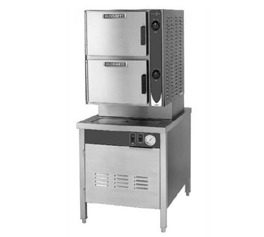 Blodgett 6E-SB Convection Steamer Electric (2) compartments (3) 2.5