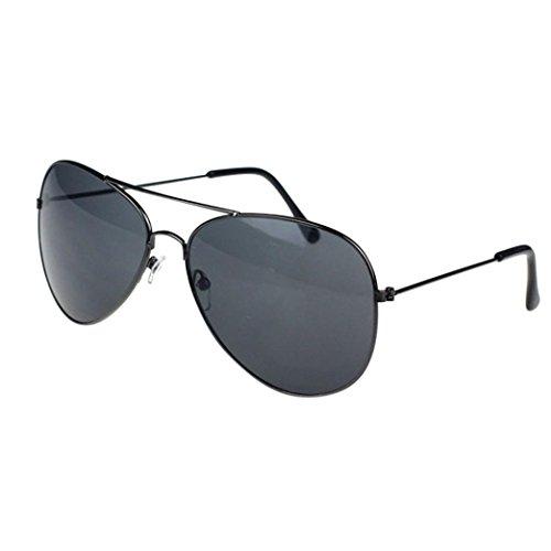 Sunglasses for Men and Women,Putars Fashion Classic Unisex Metal Frame - Strap 80s Sunglasses