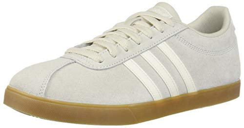adidas Women's Courtset, raw Cloud White/Gum, 6.5 M US - Womens Adidas Plush