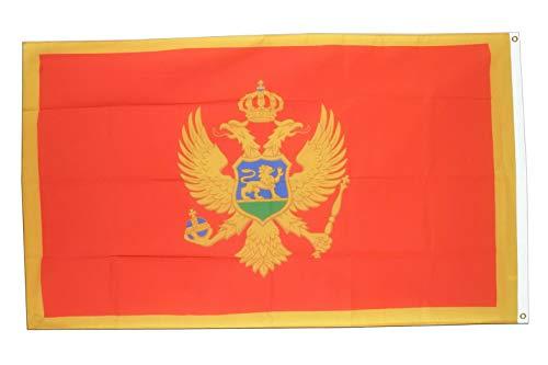Hebel 3x5 Montenegro Flag 3x5 House Banner Grommets Fade Resistant Premium | Model FLG - 1921