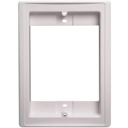 Speaker Retrofit Frame (White) (Whole House Intercom Audio)