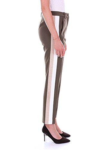 Pinko 1b13036197 Poliestere Donna Verde Pantaloni YaR1PWra