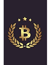 B: Bitcoin Logo Notebook 175-Page Bitcoin Crytocurrency Journal