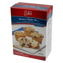 Amazon Com Gfs Complete Wild Maine Blueberry Muffin Mix No Trans