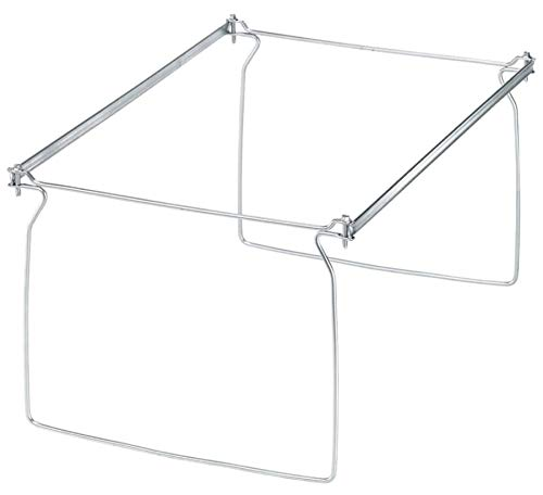 Office Depot Brand Metal File Frames, Legal Size, Silver, Box of 2