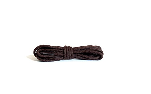 Kaps Round Thin Laces, quality 100% cotton shoe laces for casual and fashion footwear, made in Europe, 1 pair, many colours and lengths (60 cm - 24 inch - 3 ()