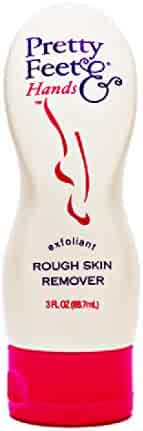 Pretty Feet & Hands Rough Skin Remover-Exfoliant, 3 Fluid Ounce