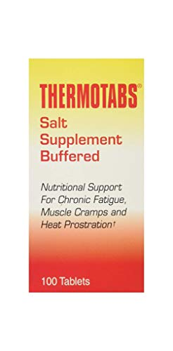 Thermotabs Salt Supplement, Buffered, 100 Tablets
