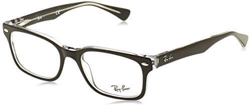 Ray-Ban RX5286 Eyeglasses Top Black on Transparent - Glasses Ray Ban Rx