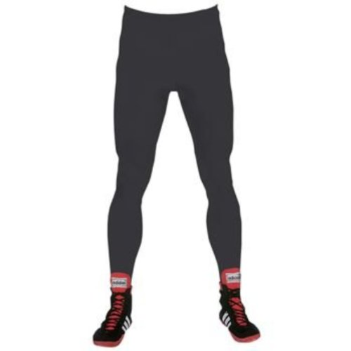 Brute Lycra Tights W/Stirrups - SIZE: Youth Medium, COLOR: Black by Brute