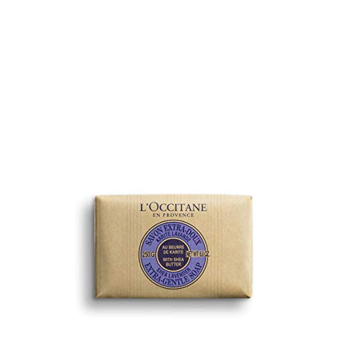 L'Occitane Extra-Gentle Vegetable Based Soap, Lavender, 8.8 oz