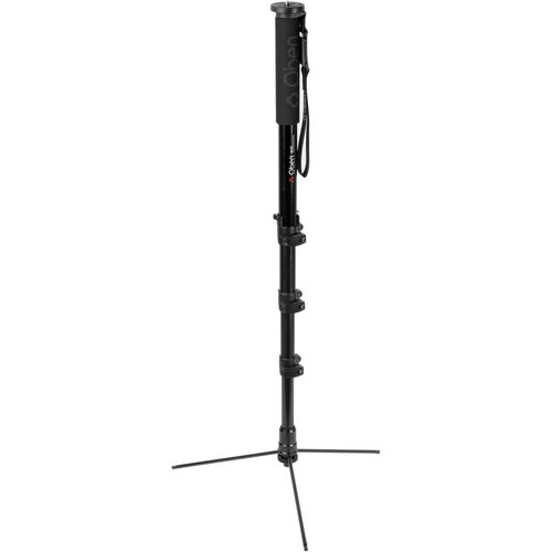 (Oben ACM-2400L 4-Section Pro Aluminum Self-Standing Photo-Video Travel Monopod with Mini-Legs)