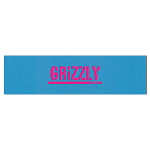 グリズリー (GRIZZLY) REVERSE STAMP GRIPTAPE (BLUE/HOT PINK)