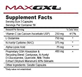 Cheap Max GXL, Unique NAC Formula, 180 Vegetable Capsules, 30 Servings (Pack of 2)