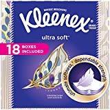 Facial Tissue Kleenex - Kleenex Ultra Soft Facial Tissues; 75 Tissues per Cube Box; (36 Boxes)