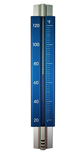 UPC 605922252904, Analog Wall Thermometer Anodized Aluminum 11.75 in. (Electric Blue)