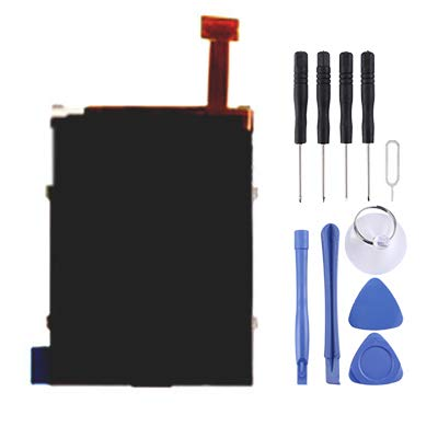 YSH Phone Replacement Parts Version, LCD Screen for Nokia N71 Big / N73 / N93 Big for Nokia (Color : Color1) (N73 Cover Nokia Housing)