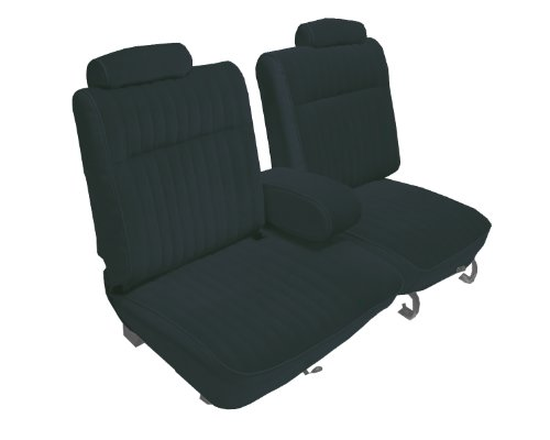 Acme U2003L-AC842 Front Charcoal Leather Bench Seat Upholstery