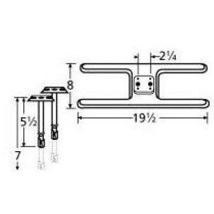 11002-70301 Stainless Steel Burner Replacement for Select...