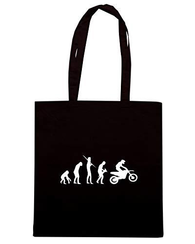 EVO0044 Borsa Shirt Speed MOTOCROSS Shopper EVOLUTION Nera 8BaTCwnq
