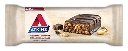 Atkins Choco Peanut Butter Meal Bar Variety Pack. Delicious Protein Bars Made with Real Peanut Butter that are Low Carb, Keto Friendly & a Great Source of Fiber (5 Flavors, 20 Bars).