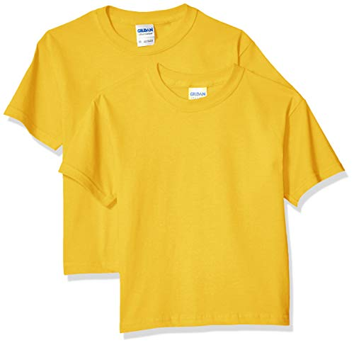 Special Yellow T-shirt - Gildan Kids' Big Ultra Cotton Youth T-Shirt, 2-Pack, Daisy, X-Small