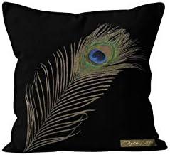 Soleil docre Paon - Funda para cojín, algodón, 40 x 40 cm, Color ...