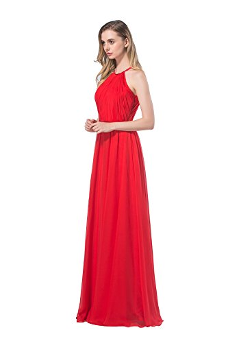 Chic Modern Sleeveless A Line Floor Length Chiffon Countr...