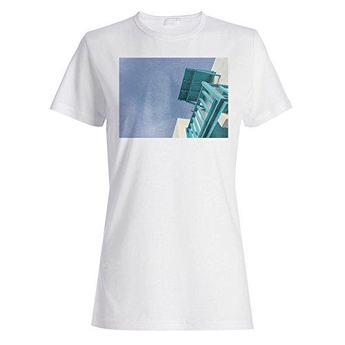 Reise Die Welt Griechenland Street Art Neu Damen T-shirt b456f
