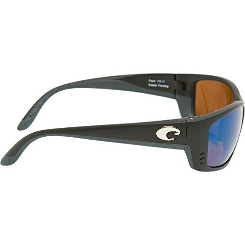 Costa Del Mar Fisch Sunglasses, Black, Green Mirror 580Glass Lens by Costa Del Mar (Image #2)