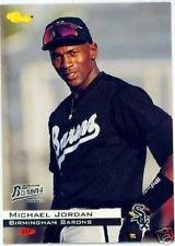 Michael Jordan baseball card (Birmingham Barons Chicago White Sox) 1994 Classic #1