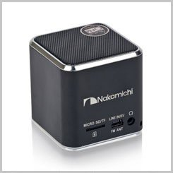 Review Nakamichi Wired Portable Speaker