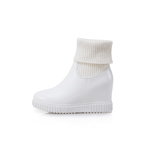 AdeeSu Femme Blanc Sxc02679 36 5 Plateforme Blanc qqBvxwRP