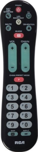 RCA RCRPS02GR 2-Device Big Button Remote Control (Best Universal Tv Remote For Iphone)